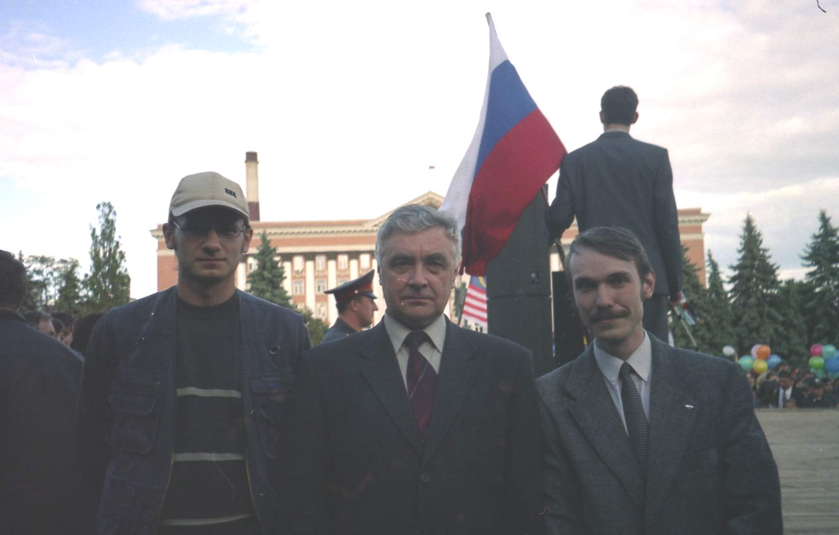 Наши люди на Красной площади на 40-летие политеха