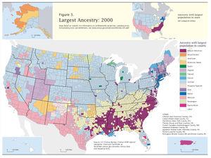 карта распределения этнических групп