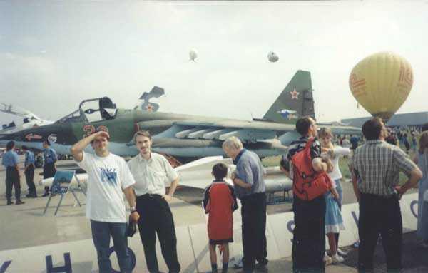 Су-25СМ-1. До боли знакомый самолёт. Тогда состоялась наша первая встреча. (мысли от Йохана).