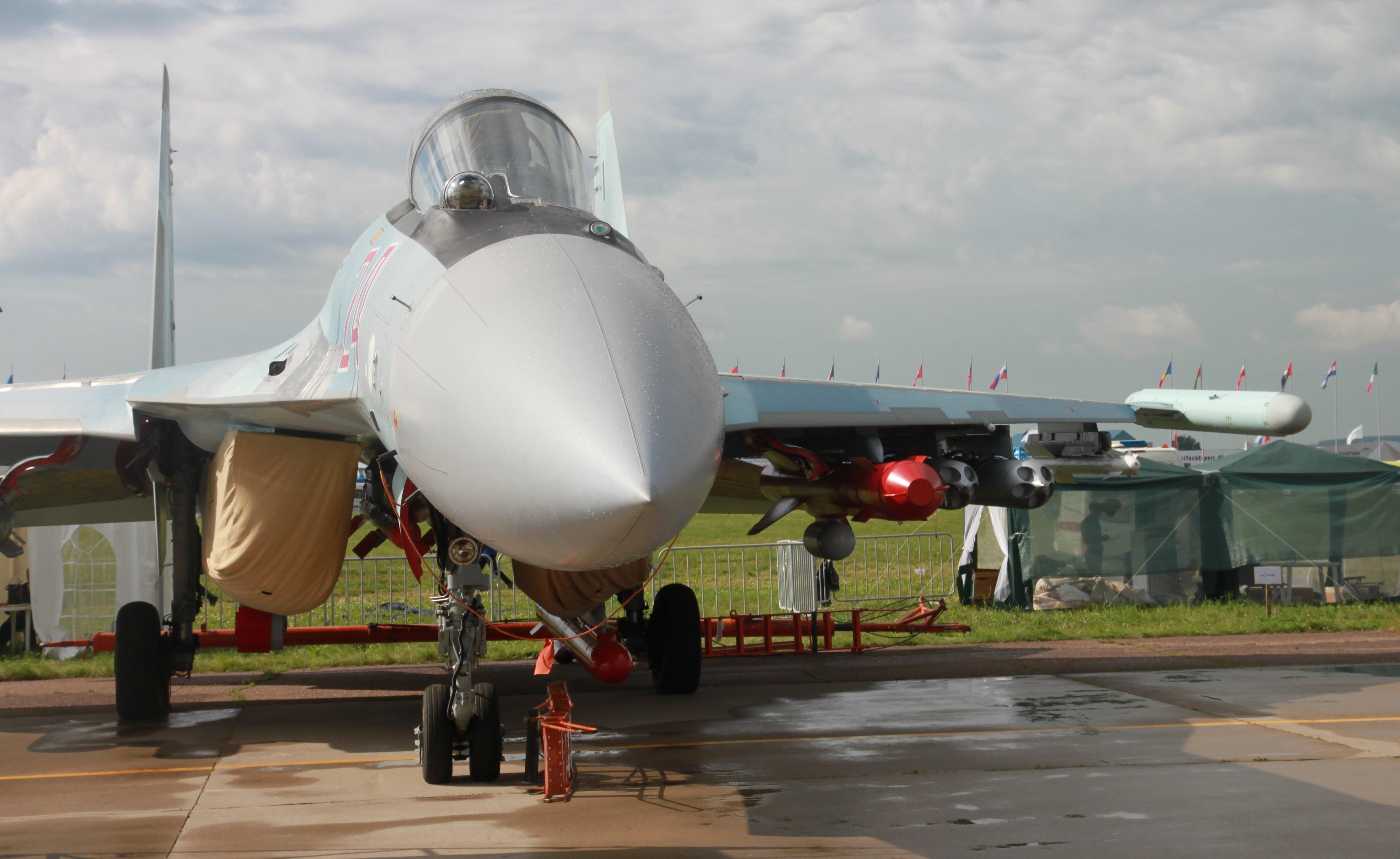 Су-35 на МАКС-2017