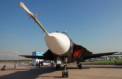 Су-47 на МАКС-2019